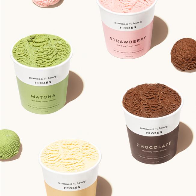 non-dairy frozen desserts.