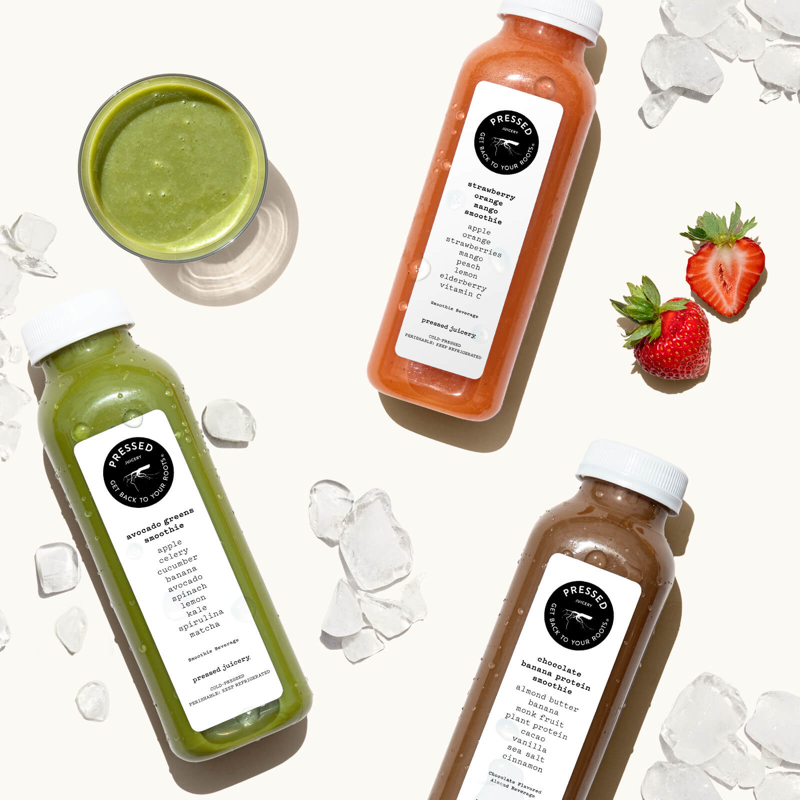 New Pressed Smoothies!